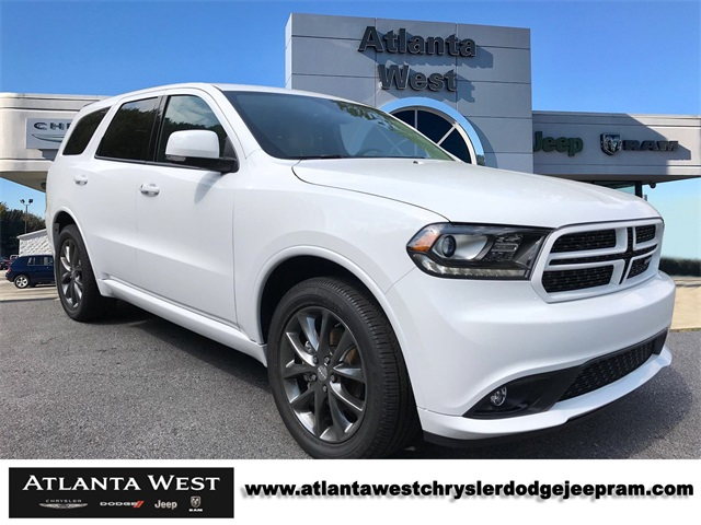 new 2018 dodge durango gt sport utility in lithia springs 132993 atlanta west chrysler dodge. Black Bedroom Furniture Sets. Home Design Ideas