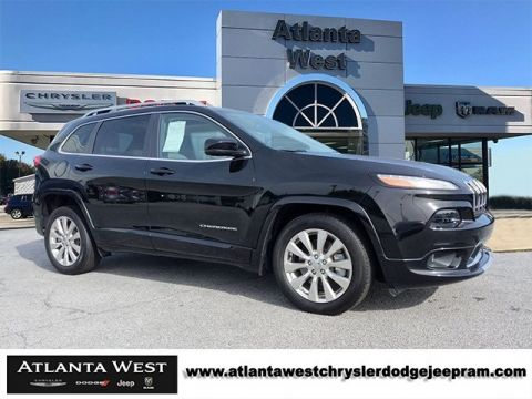 Certified Pre-Owned 2017 Jeep Cherokee Overland