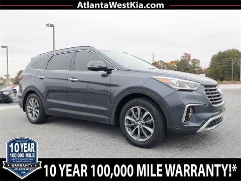 Pre-Owned 2017 Hyundai Santa Fe Limited